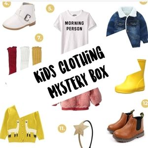 Kids Clothing Mystery Box